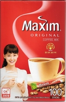 Korean Mix Coffee Maxim Original 100 Sticks