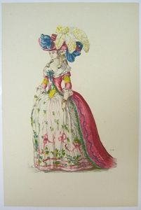 1780s French Fashion Series Style 01