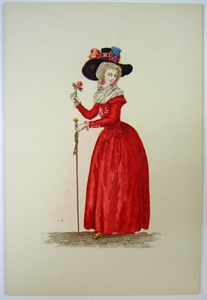 1780s French Fashion Series Style 03