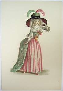 1780s French Fashion Series Style 05