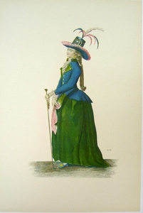 1780s French Fashion Series Style 08