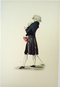 1780s French Fashion Series Style 09