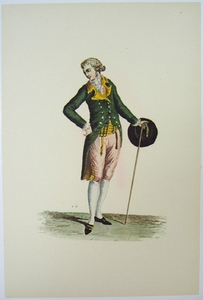 1780s French Fashion Series Style 10