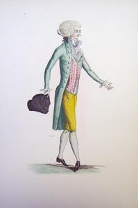 1780s French Fashion Series Style 11