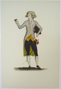 1780s French Fashion Series Style 12