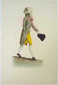 1780s French Fashion Series Style 15