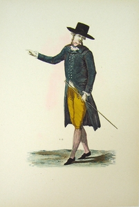1780s French Fashion Series Style 16