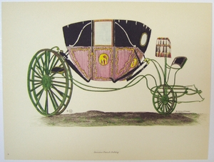 18th Century Carriage - Style  09