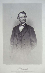 A. Lincoln - Engraver: A.H. Ritchie