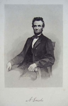 A. Lincoln - Engraver:  J. Rogers