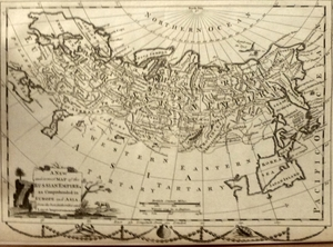A New and Correct Map of the Russian Empire