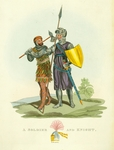 A Soldier and Knight. A.D.1295.