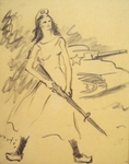 Allegory of French Resistance During WWII