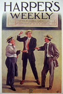 Baseball - Cover of Harper's Weekly