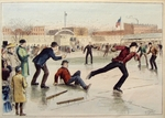 Baseball on Ice Skates