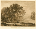 Beauties of Claude Lorrain, Plate 2