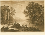 Beauties of Claude Lorrain, Plate 5