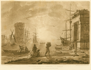 Beauties of Claude Lorrain, Plate 6