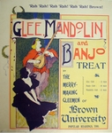 Brown University Poster - Merry-Making Gleemen's Glee, Mandolin, and Banjo Treat