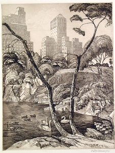 Central Park - Otto Wackernagel - SOLD