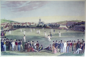 "Cricket - ""The Cricket Match between Sussex and Kent, at Brighton"""