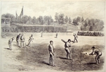 "Cricket - ""The International Cricket Match at Philadelphia"""
