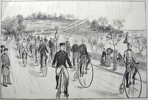 "Cycling - ""Third Annual meet of the League of American Wheelmen"""