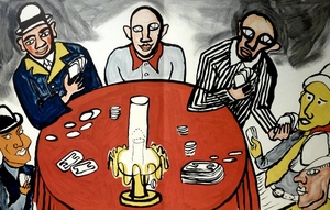 Derriere le Miroir #212: Poker Players