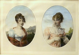 Dual Portraits of Marie Louise