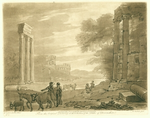 Engraving No. 1, Claude Lorrain