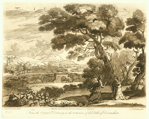 Engraving No. 140, Claude Lorrain