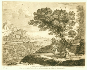 Engraving No. 174, Claude Lorrain