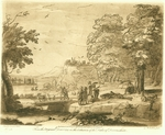 Engraving No. 45, Claude Lorrain