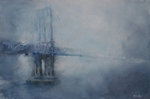 Foggy Morning - Manhattan Bridge