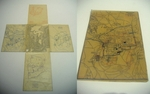 Folding Map of Jerusalem