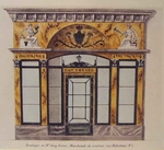 French Store Façades from the Empire/ Neo-Classical Period
