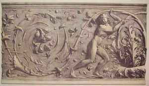 Frieze by Andrea dal Monte Sansovino