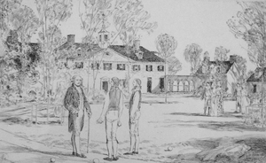 George Washington at Mount Vernon