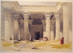 Grand Portico of the Temple of Philae-Nubia