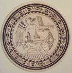 Greco Minoan Engraving - Plate 1