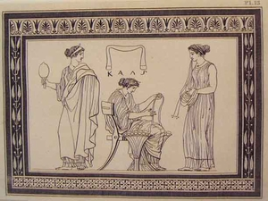 Greco Minoan Engraving - Plate 13