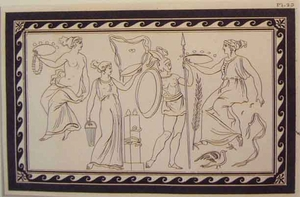 Greco Minoan Engraving - Plate 23