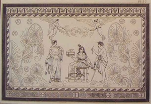 Greco Minoan Engraving - Plate 37