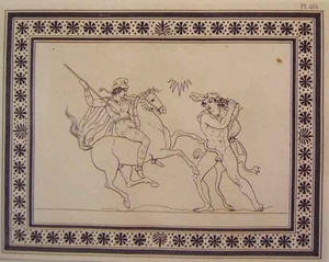 Greco Minoan Engraving - Plate 40