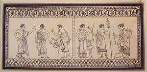 Greco Minoan Engraving - Plate 43
