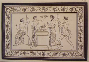Greco Minoan Engraving - Plate 48