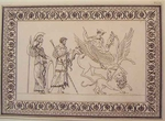 Greco Minoan Engraving - Plate 52