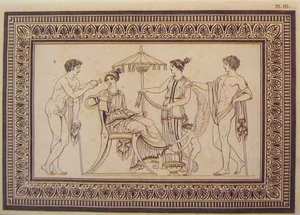 Greco Minoan Engraving - Plate 61