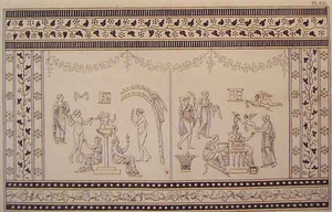 Greco Minoan Engraving - Plate 62