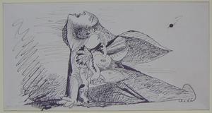 Guernica, Study on Paper 3